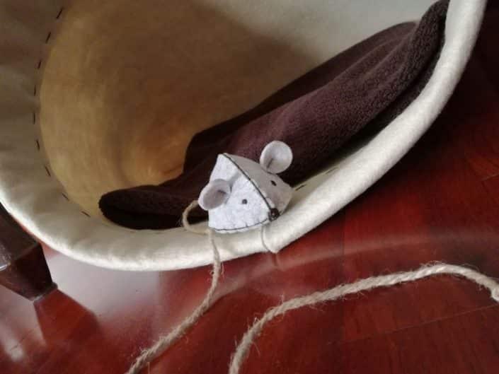 Cuccia cesta per gatto